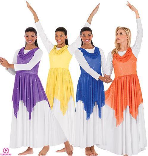 13860 Liturgical Dance Tunic $30.00