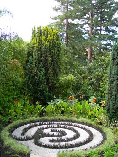 Labyrinth Designs Garden i bought the design from the grace cathedral veriditas project that dr artress was promoting through the church and around america the labyrinth design Find This Pin And More On Labyrinths Minotaurs Not Welcome