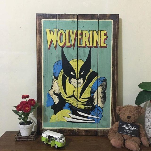 Saya menjual Hiasan dinding kayu palet lukis vintage seharga Rp149.000. Dapatkan produk ini hanya di Shopee! https://shopee.co.id/tripleeightgallery/213075294/ #ShopeeID