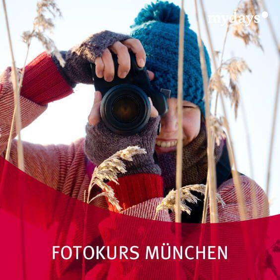Fotokurs München - Ob Nacht-, Tag-, Portrait- oder Landschaftenfotografie bei mydays wirst Du sicherlich fündig und findest den passenden Fotokurs. DIY | geschenke