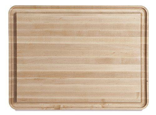 "J.K. Adams Vermonter Carving Board, 24"" x 16"" x 11/2"", Maple"