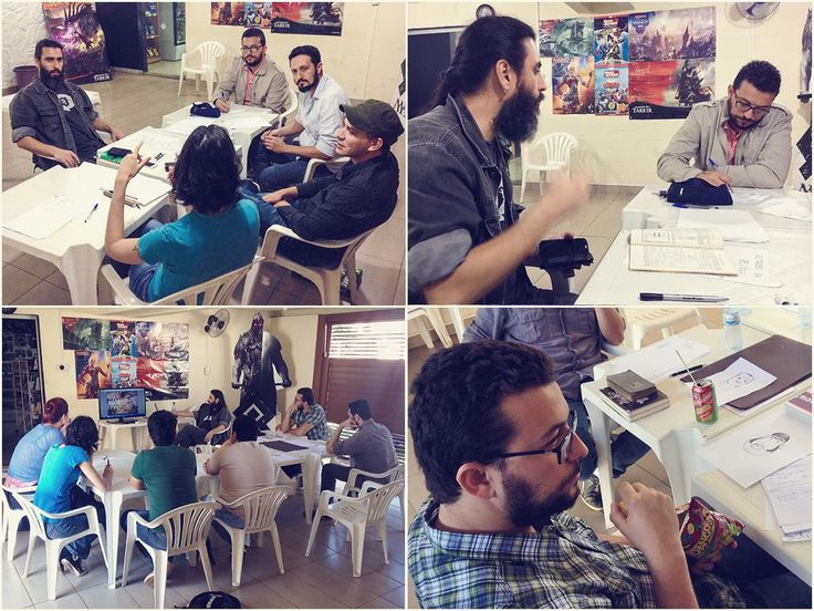 Oficinas de Quadrinhos com S. Lobo na Comic Shop em Campo Grande/MS