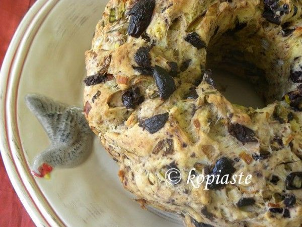 #Eliopsomo - #olive_bread with #rosemary