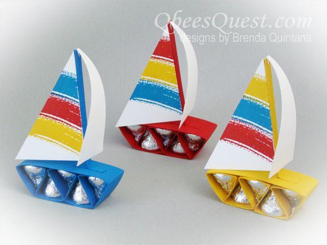 Hershey's Sailboat Tutorial