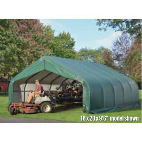Peak Style Storage Canopy 18x20x12