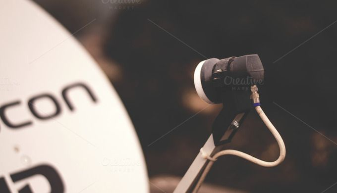 Check out TV Signal Receiver by Shots By RC on Creative Market
