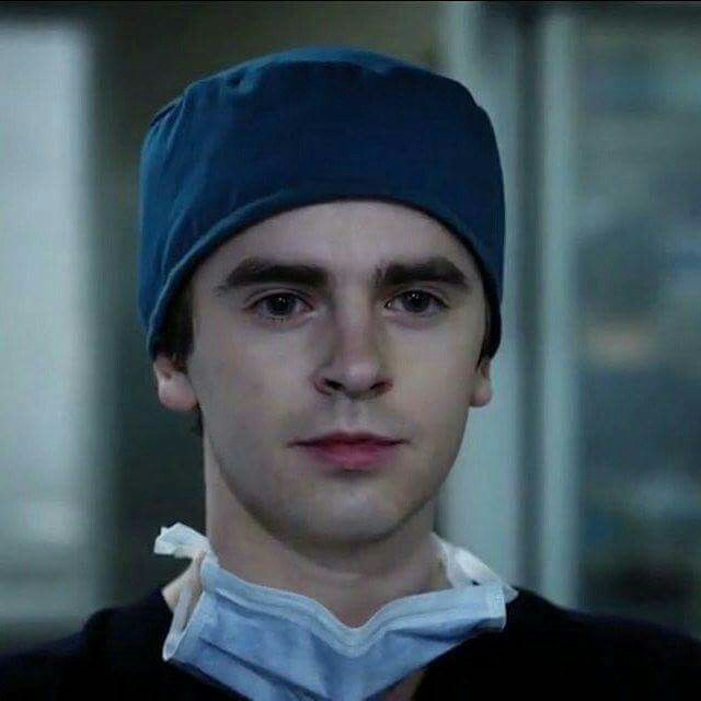 Freddie Highmore # The good doctor # Shaun Murphy #