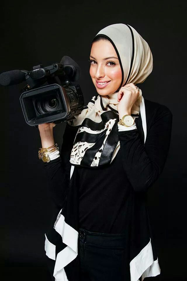 Noor Tagouri- Libya -first Arab Muslim women to be an anchor on American television