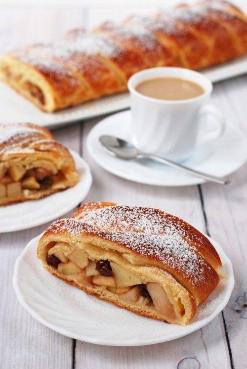 Apfelkuchen (almás pite) recept