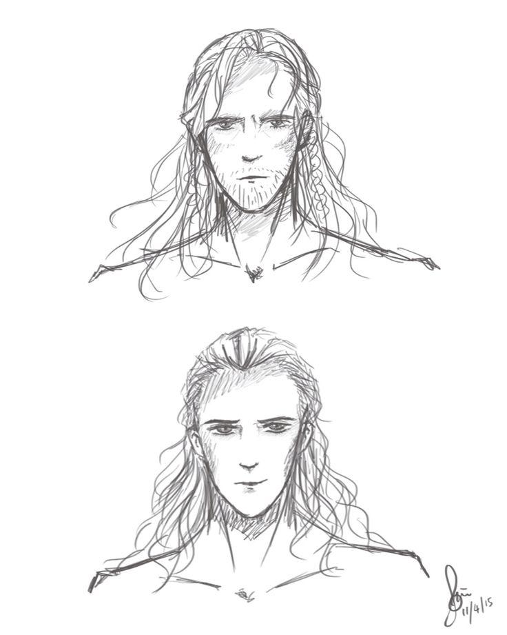 Thor Loki Sketch