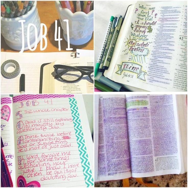 JOB 41 Online bible study, Daily bible study, Book of job