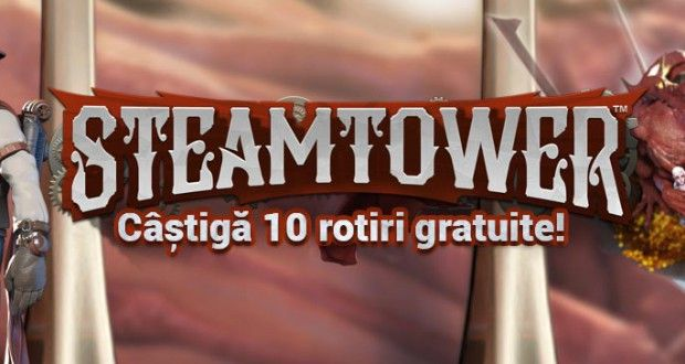 Winmasters - Ia 10 rotiri gratuite la jocul Steam Tower - Casino