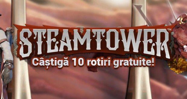 Winmasters - Ia 10 rotiri gratuite la jocul Steam Tower - Casino