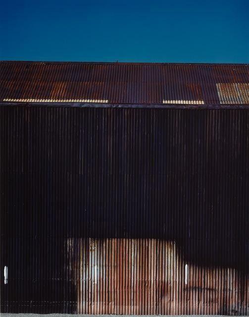 Black Iron Shed, (Print by Real Pictures Ltd Akld) | Christchurch Art Gallery Te Puna o Waiwhetu
