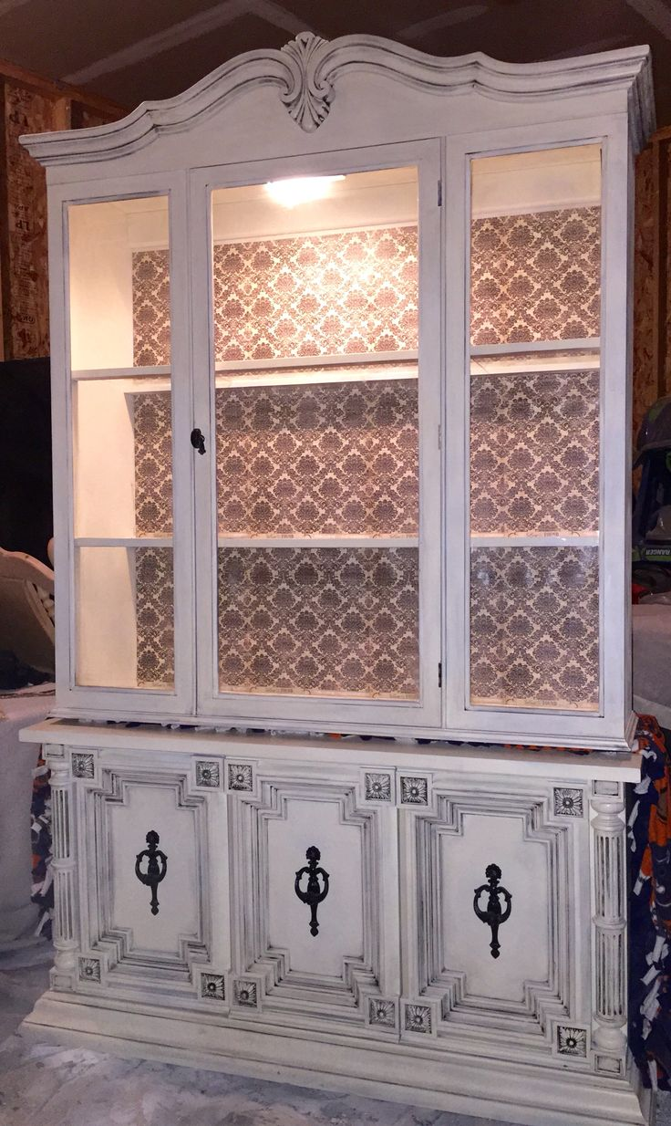 Refurbished Hutch By Ashley Kettering
