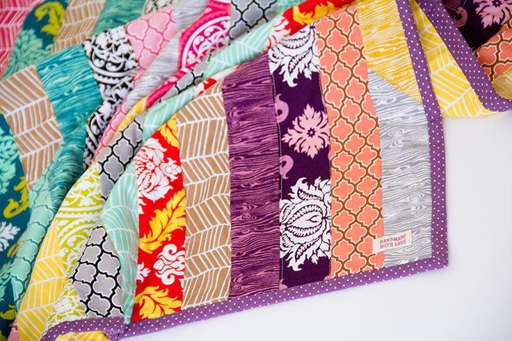 patchworkdecke aus einer jelly roll n hen quilt jelly rolls en blog. Black Bedroom Furniture Sets. Home Design Ideas