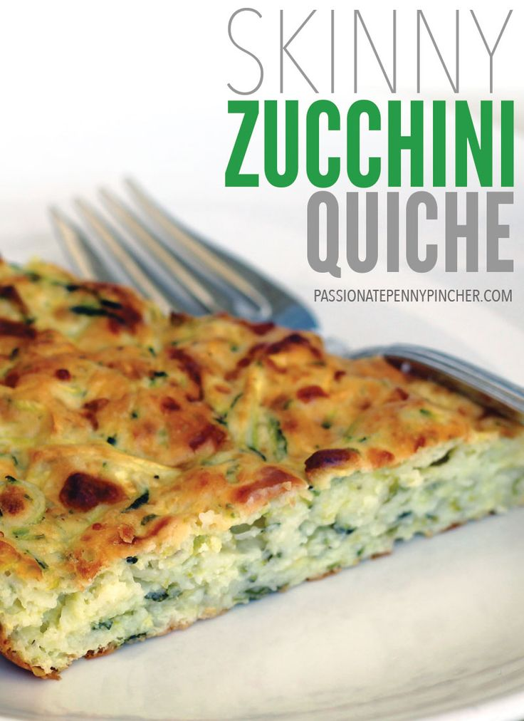 Skinny Zucchini Quiche. Passionate Penny Pincher is the #1 source printable & online coupons! Get your promo codes or coupons & save.