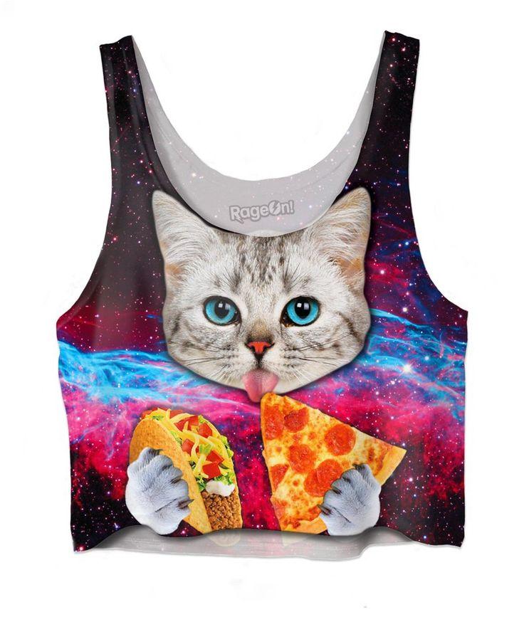 Taco Cat Crop Top – RageJunkie