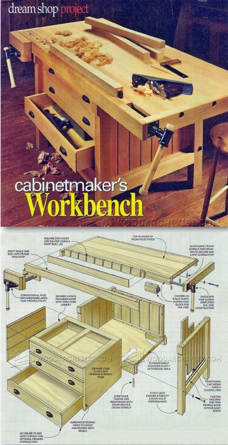 564 best work benches and tool storage images on pinterest cabinet makers workbench plans workshop solutions projects tips and tricks woodarchivist com