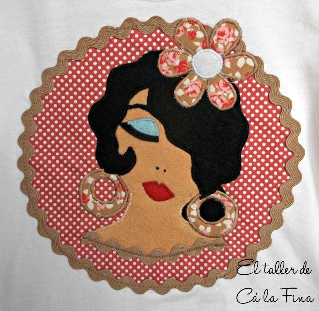 Cá la Fina. Camisetas flamencas para romerías 5