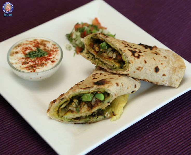 Falka Roll (#Indian #Vegetable Wrap) #Healthy #Tiffin Snacks / #Brunch #Recipe By Annuradha Toshniwal
