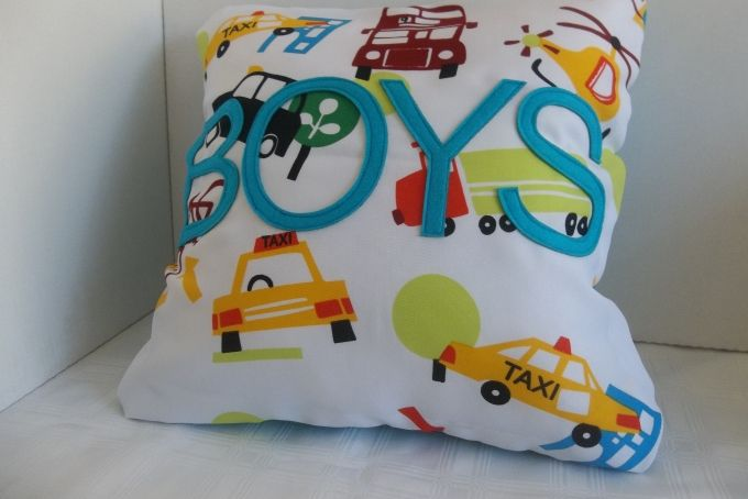 Pillows for boys/ Kussings vir seuns by Patch A Pouch