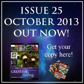 The 4th Anniversary Issue of Creative Crafting Magazine is OUT NOW!  Standard PCG members receive a 40% discount on the purchase price.  Premium PCG members receive a 100% discount on the purchase price.  http://creative-crafting.com/october2013.html