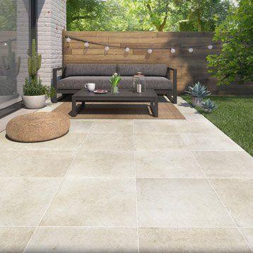 25 best terrasse images on Pinterest Outdoor gardens, Backyard - pose carrelage terrasse sur dalle beton