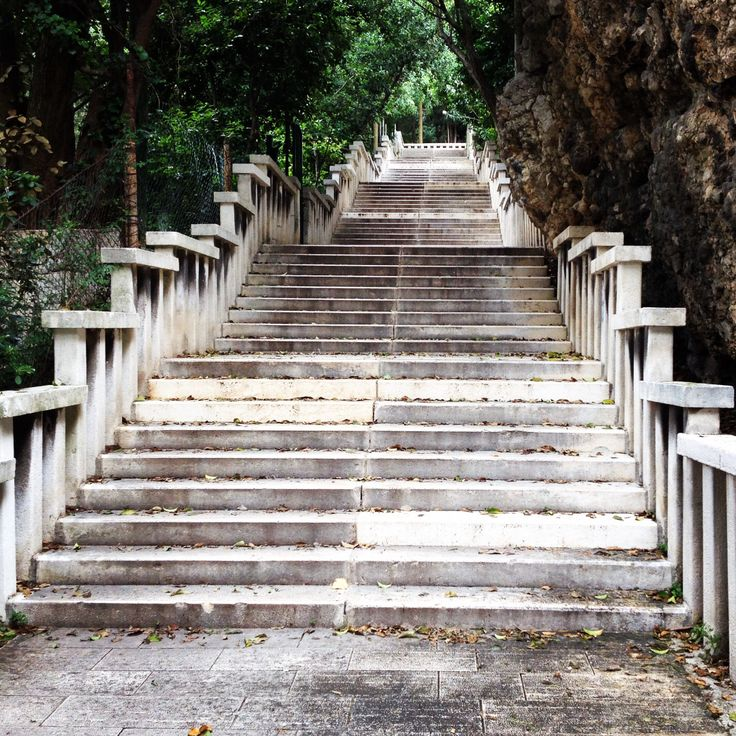 Steps to Marjan (Split, Croatia) (pic by blp)