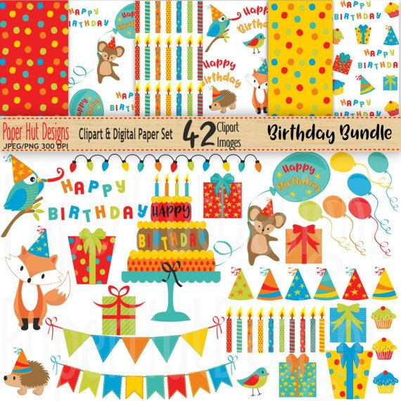 23 best Birthday - Mixed Sets images on Pinterest Digital papers - birthday cards format