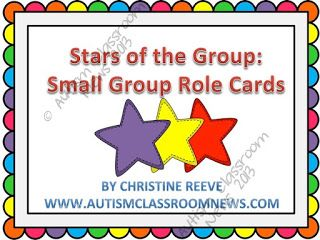 Using Role Cards in Small Group Work–Freebie! via @drchrisreeve