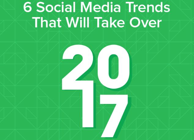 This new infographic from Sprout Social looks at six key social media trends marketers should keep an eye on in 2017.