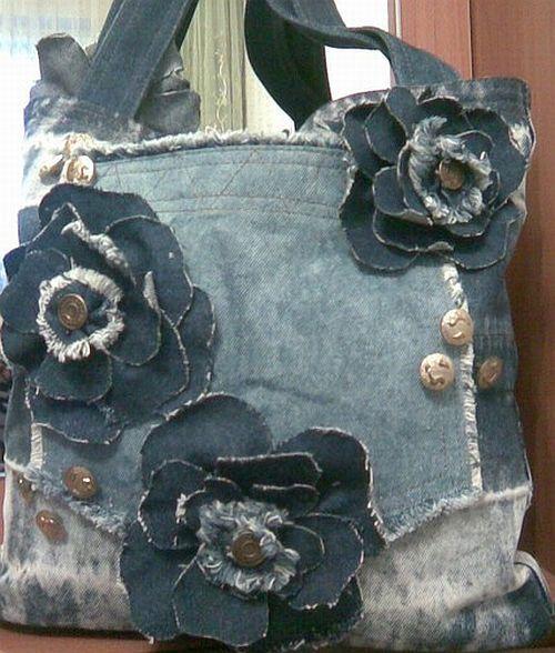 Denium purse idea