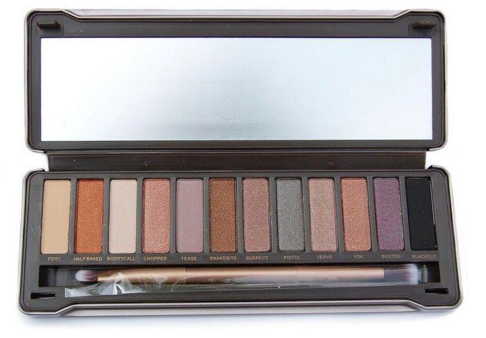 Professional 12 Eyeshadow make-up Neutraal Palet + Brush www.ovstore.nl/nl/huismerk-professional-12-eyeshadow-make-up-neutraa.html