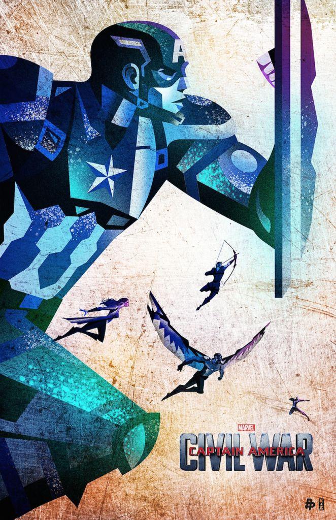 Poster Posse - Civil War kaz Oomori 1