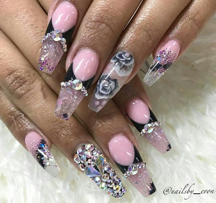 299 best beautiful nails images on pinterest beautiful enamels black women nail art tutorials nail ideas beautiful nail art ideas dark skinned women black girls prinsesfo Images