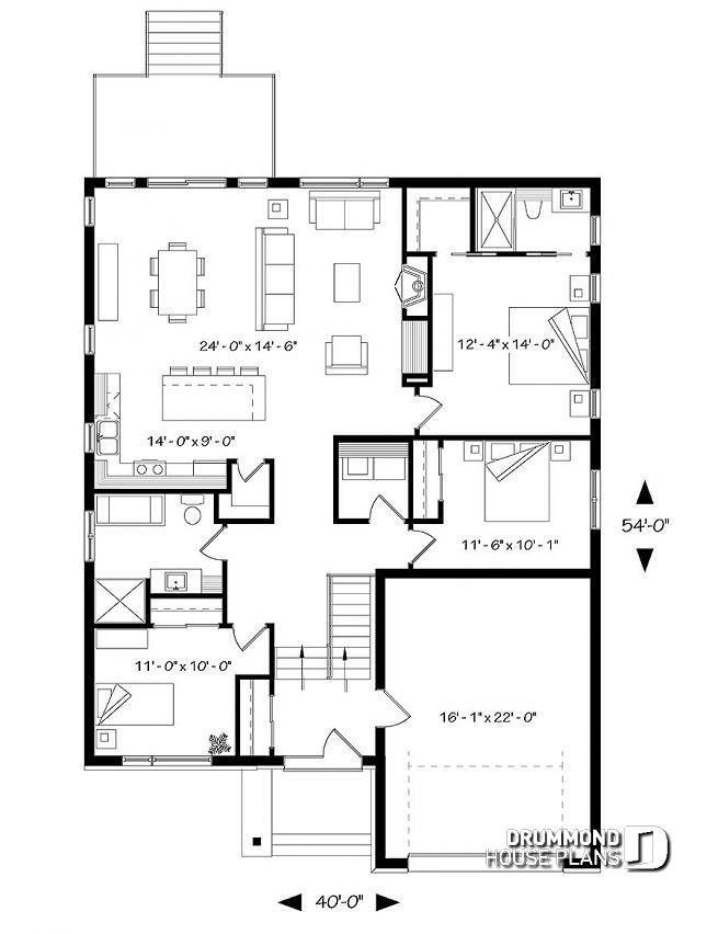 House Plan Urbania 2 No 3281 Cjg Split Level House Plans House