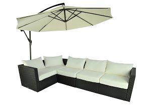 5 Pc Outdoor Stylish Rattan Wicker Sofa Sectional Patio Furniture Set Chiars | Strathwood Griffen | Strathwood Outdoor Furniture