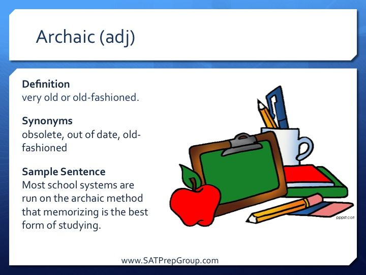 Is it ok to use archaic words?