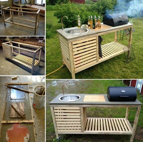 Diy Outdoor Kitchen Designs: 17 Best Ideas About Portable Barbecue On Pinterest
