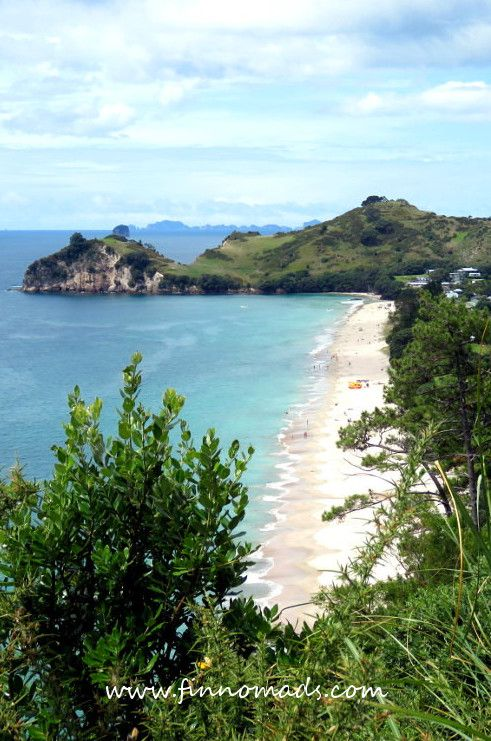 Hahei Beach, one of the most beautiful beaches in New Zealand. #newzealand #travel #travelinspiration #beach