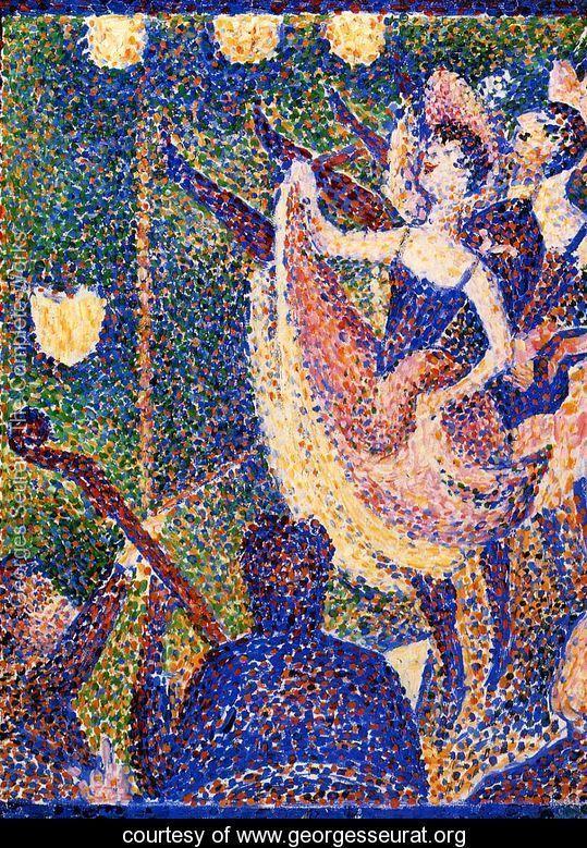Chahut (study) - Georges Seurat - www.georgesseurat.org  https://www.artexperiencenyc.com/social_login/?utm_source=pinterest_medium=pins_content=pinterest_pins_campaign=pinterest_initial