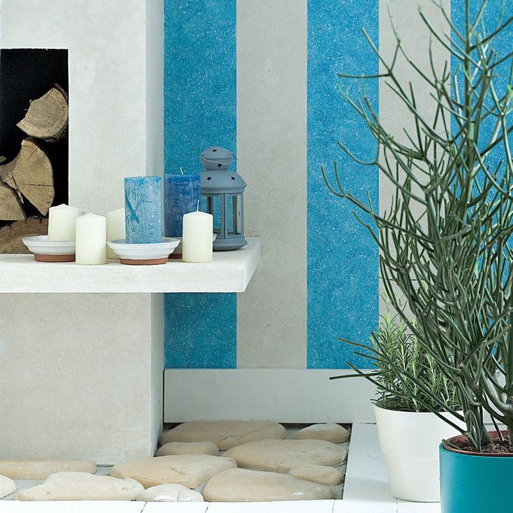 Białe płaszczyzny mogą się szybko znudzić. My proponujemy dekorowanie ścian za pomocą farby i pędzla. Wypróbuj nasz sposób na ozdobne pasy na ścianie w ulubionym kolorze. Specjalnie nakładana farba doda atrakcyjności Twojej nowej aranżacji wnętrza. Zobacz jak to zrobić według instrukcji.