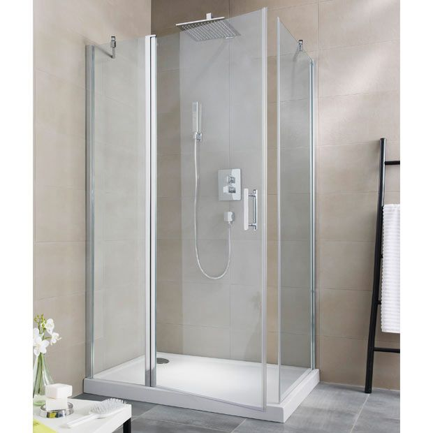 Porte de douche pivotante Reverso