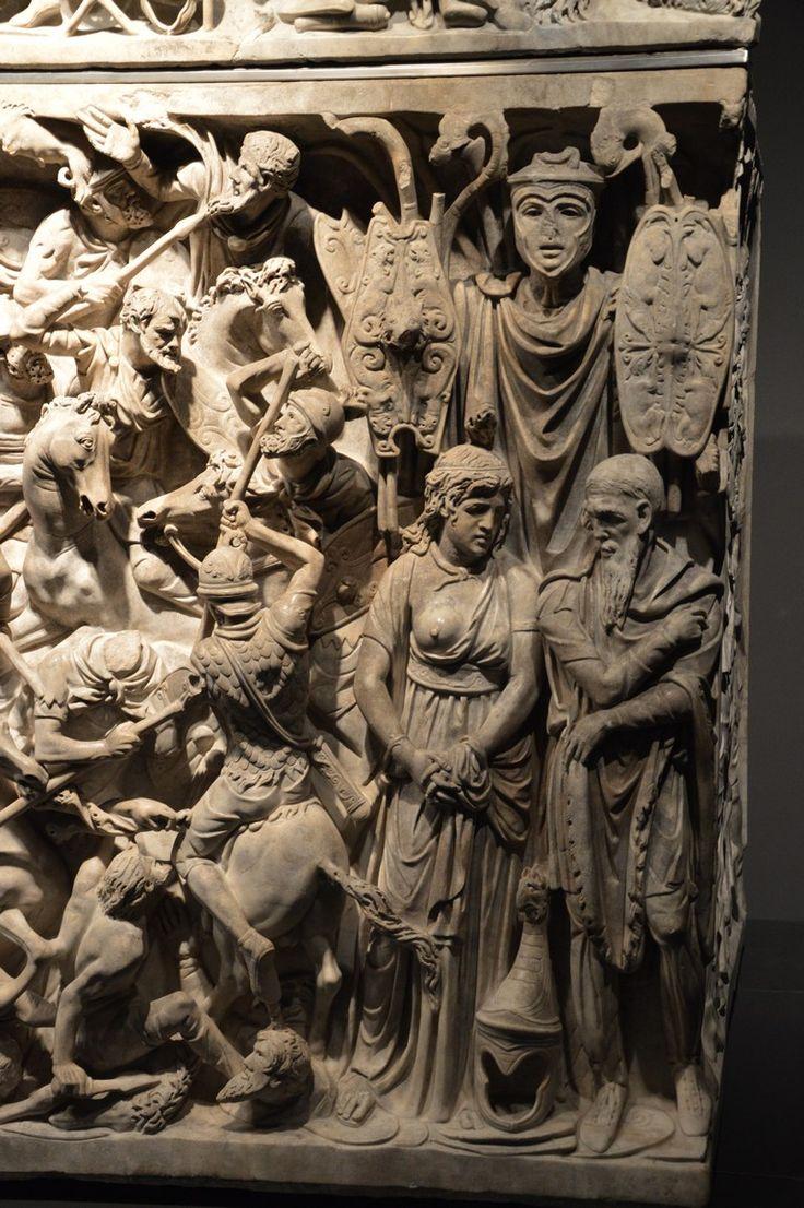 Sarcophagus Portonaccio 180 d.C. Archaelogical Museum Rome