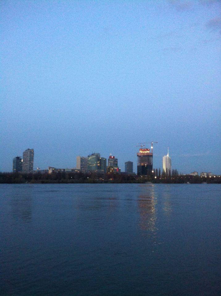 Vienna Donau River