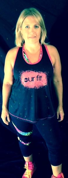 Tigressa Tights and Singlet Our Fit Clothing