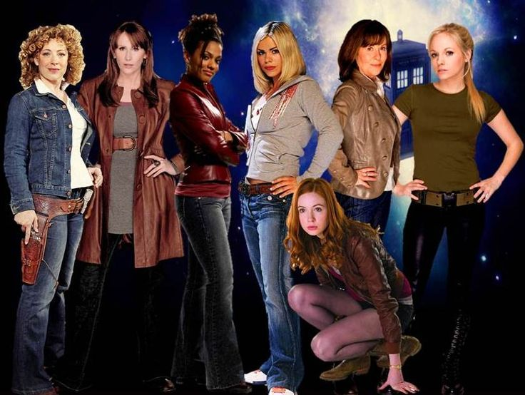 The female companions of Doctor Who - doctor-whos-companions Fan Art