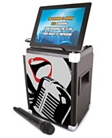 ION Audio Karaoke Pro, Professional Karaoke System for Ipad