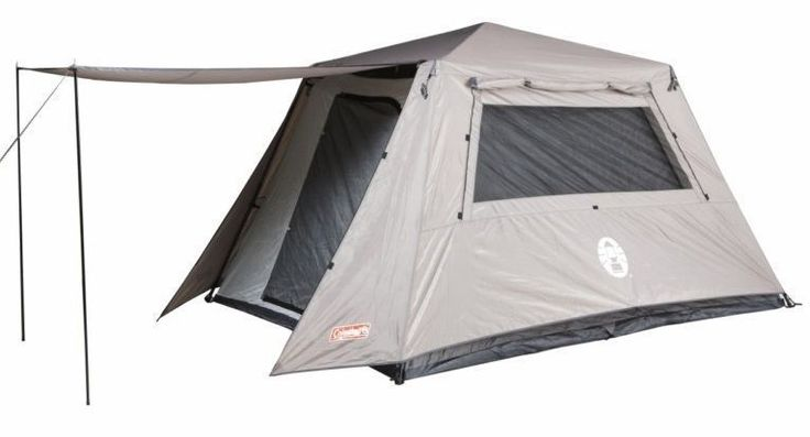 COLEMAN 6P INSTANT FULL FLY TENT (Brand New)